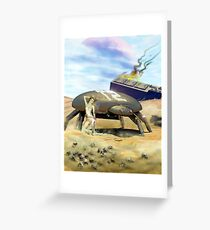 Wastelands Greeting Card