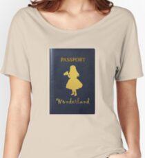 Passport to Wonderland Women's Relaxed Fit T-Shirt