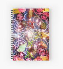Reiki Crystal Healing Grid  Spiral Notebook