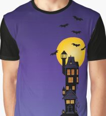 Haunted house Graphic T-Shirt