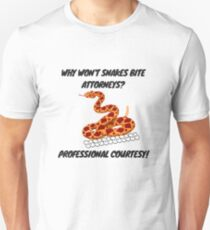 Attorneys are Like Snakes Unisex T-Shirt