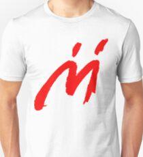 Super Mario Sunshine Shadow Mario M Logo (white background) Unisex T-Shirt