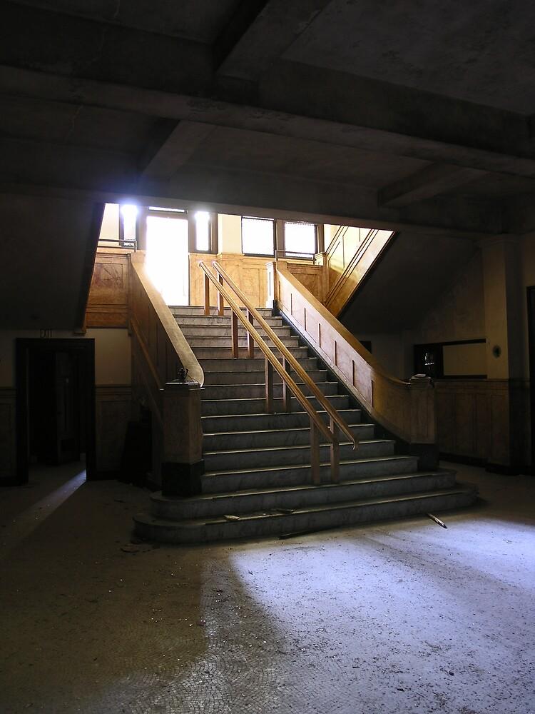 administration stairwell by rob dobi