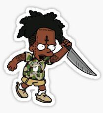 21 Savage Simpson Sticker