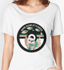 birb.rowlet.cards logo Women's Relaxed Fit T-Shirt