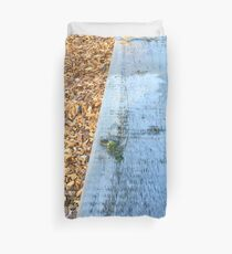 Sparrows On The Edge Duvet Cover