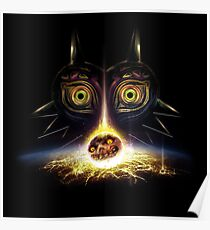 Legend of Zelda Majora's Mask Operation Moon Fall Poster