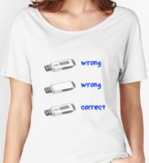 Pendrive usb 3.0 Women's Relaxed Fit T-Shirt