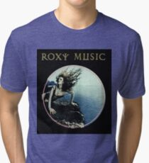 Roxy Music Siren Program Art Tri-blend T-Shirt