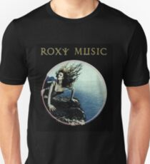 Roxy Music Siren Program Art Unisex T-Shirt