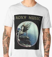 Roxy Music Siren Program Art Men's Premium T-Shirt