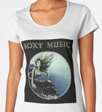 Roxy Music Siren Program Art Women's Premium T-Shirt