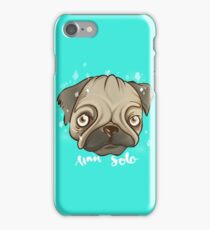 HAN SOLO PUGG iPhone Case/Skin