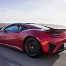 Candy Red Acura NSX Rolling Shot!  by HnatAutomotive