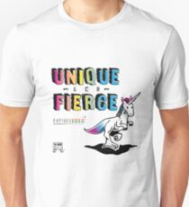 Unique and Fierce Unisex T-Shirt