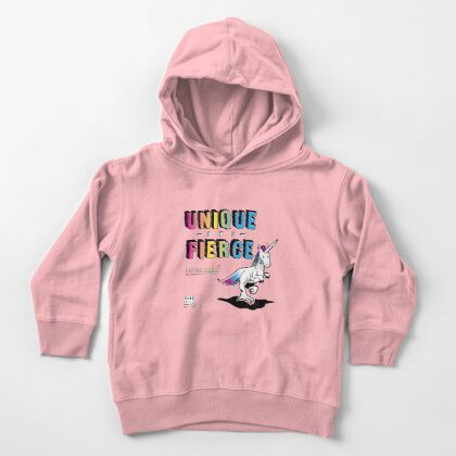 Unique and Fierce Toddler Pullover Hoodie