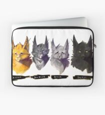 No Evil - Warrior Cats Power of Three Illustration Laptop Sleeve