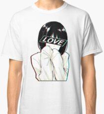 Camiseta clásica AMOR triste estética japonesa