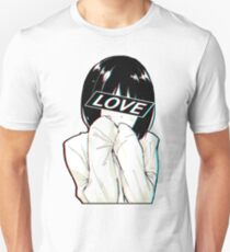 LOVE Sad Japanese Aesthetic  Unisex T-Shirt