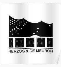 Herzog & De Meuron Logo - Elbphilharmonie Poster