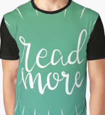 Read More (Green) Graphic T-Shirt