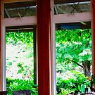 Window at The Dunes Restaurant, PEI Canada by Shulie1