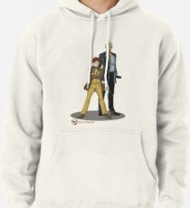 Stephen and Crane by Mila May Pullover Hoodie