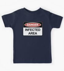 Infected Area Kids Clothes