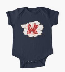 Chinese Zodiac Dog Papercut Year of The Dog Kids Clothes