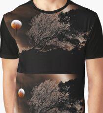 Blutmond Grafik T-Shirt