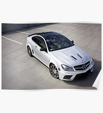 C63 Black Series From Above - 2 Poster