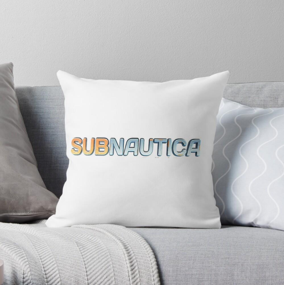 Logotipo Subnautica Cojín