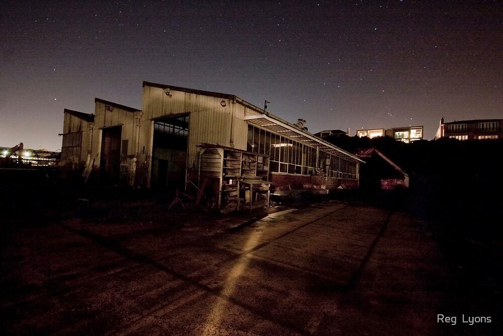 Port Authority Destruction (A) by Reg  Lyons