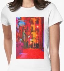 The Walkabouts - Spanish Red Moon Stroll Womens Fitted T-Shirt