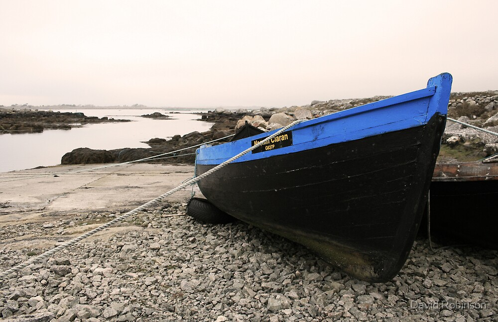 Connemara Boats #2 by David Robinson