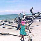 Beach Balancing Act by Seth  Weaver