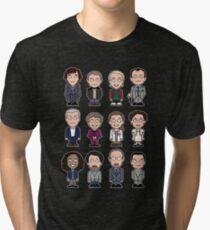 Sherlock and Friends mini people (shirt) Tri-blend T-Shirt