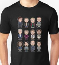 Sherlock and Friends mini people (shirt) Unisex T-Shirt