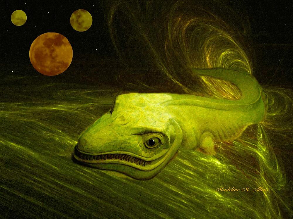 ALIEN SAND DRAGON by Madeline M  Allen