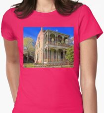 Balcony House Womens Fitted T-Shirt