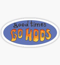 UVA good times go hoos Sticker