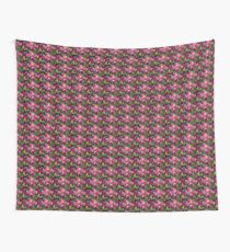 Pink and purple tulip flowers Wall Tapestry