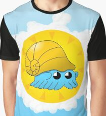 Lord Helix — Give Energy Omanyte with brackground Graphic T-Shirt