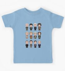 The Twelve Doctors (shirt) Kids Clothes