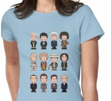 The Twelve Doctors (shirt) Womens Fitted T-Shirt