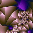 Purple Glow by James Brotherton