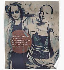 Chris Cornell & Chester Bennington Poster