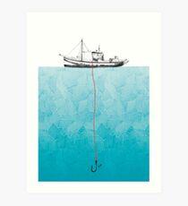 Pesca Kunstdruck