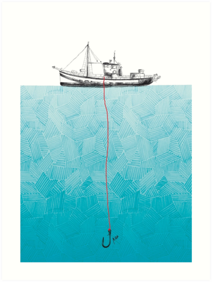 Pesca von Mónica Alda