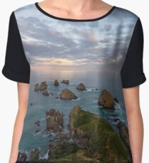 The Lookout -Nugget Point Chiffon Top